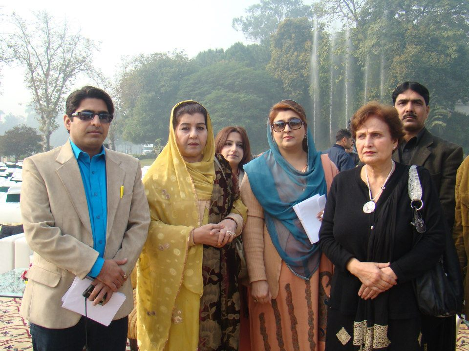 Asad M. with MPA Faiza Malik and Ex-Advisor to Governor Bushra Malik