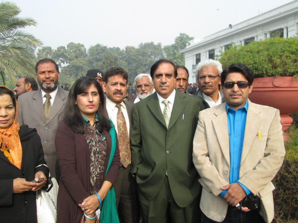 Asad M. with Senator Jehangir Badar