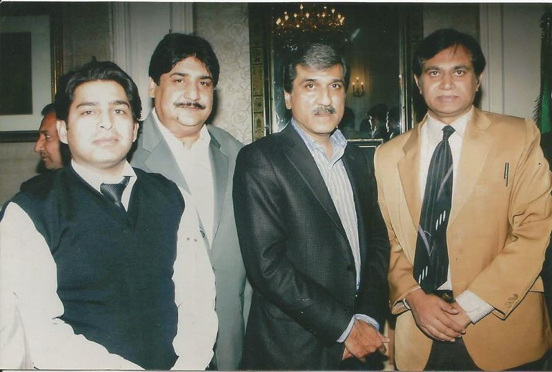 Asad M. With Ex-Governor Punjab Makhdum Mahmood